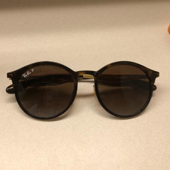 1548942da1 ... discount code for ray ban emma polarized sunglasses in tortoise abe6f  23d06